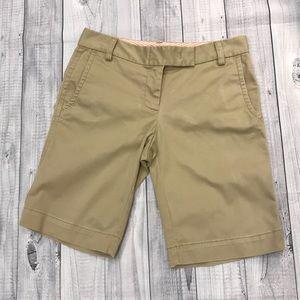 J Crew City Fit Bermuda Shorts